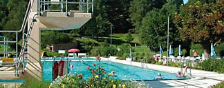 Freibad in Bad Herrenalb